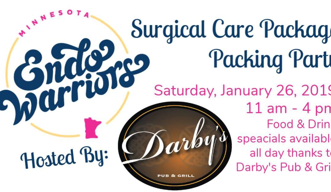 Surgical Care Package Packing Party