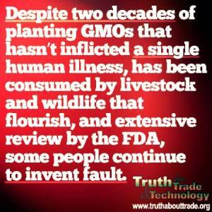 GMO's are Safe