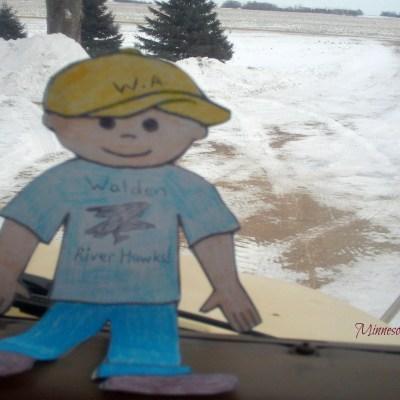 Flat Aggie Visits Southern Minnesota