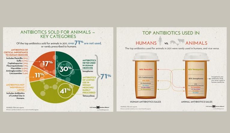Livestock antibiotic usage