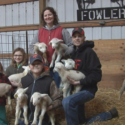 MN Agriculture: Travis and Jeanine Fowler, Sheep, Goats, Pigs and Crops