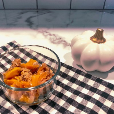 Country Style Peach Crisp