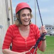 Basecamp-woman-climbing-rope-senior-citizen-things-to-do