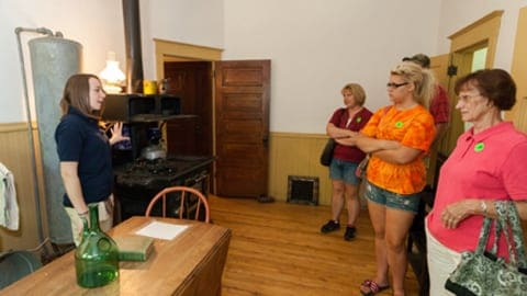 Little Falls Historical Society tour