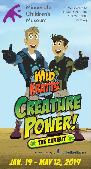 Wild Kratts Creature Power MN Childrens Museum