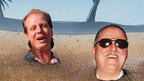 alan richards heads in sand