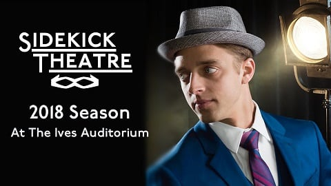 Sidekick Theater 2018 Season Graphic