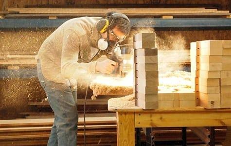 Man manufacturing instrument kit
