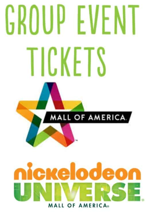Mall of America Group Rates 2019