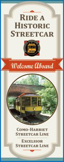 Minnesota Streetcar Museum Brochure