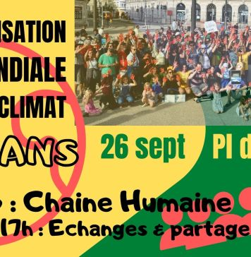 manifestation pour le climat Le mans
