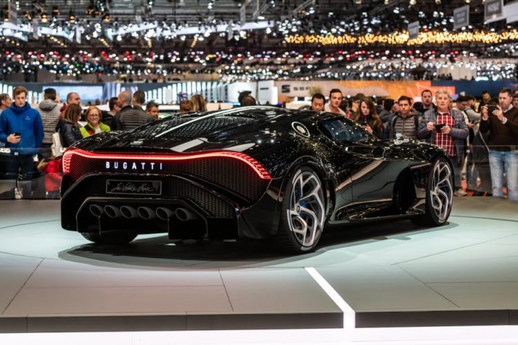 Duurste nieuwe auto Bugatti La Voiture Noire
