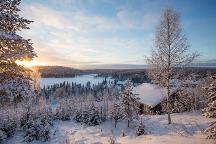 Winter in Fins Lapland