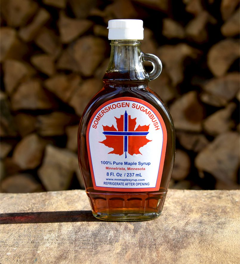 Maple Barrel Syrup Bourbon Wisconsin