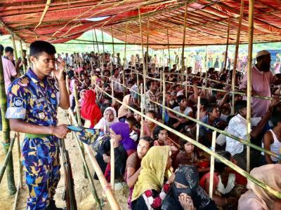 Rohingya refugee crisis marks two years