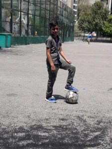 Childhood returns to refugee kids at Bible camp