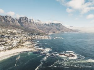 Offering Bibles for South Africa evangelism pageant