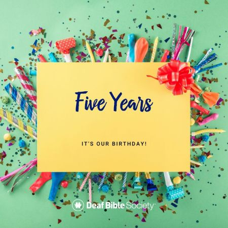 Deaf Bible Society Celebrates Five Years of Ministry