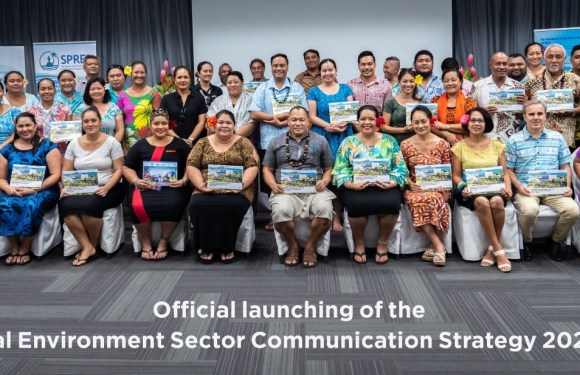 Launching of the National Environment Sector Communications Strategy 2022 – 2026