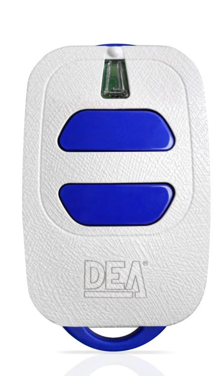 DEA HANDZENDER ROLLING CODE 2 KANAALS WIT 868Mhz GT2/868