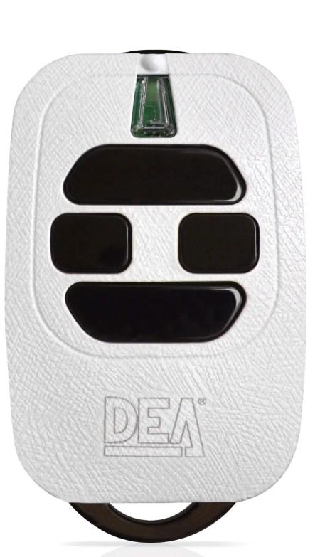 DEA HANDZENDER ROLLING CODE 4 KANAALS WIT 433Mhz GT4