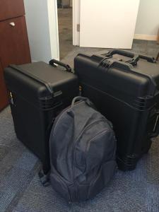 The whole (original) kit ready to go