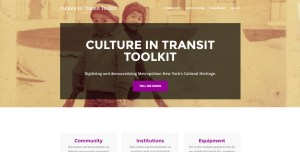 Landing page for CIT Toolkit