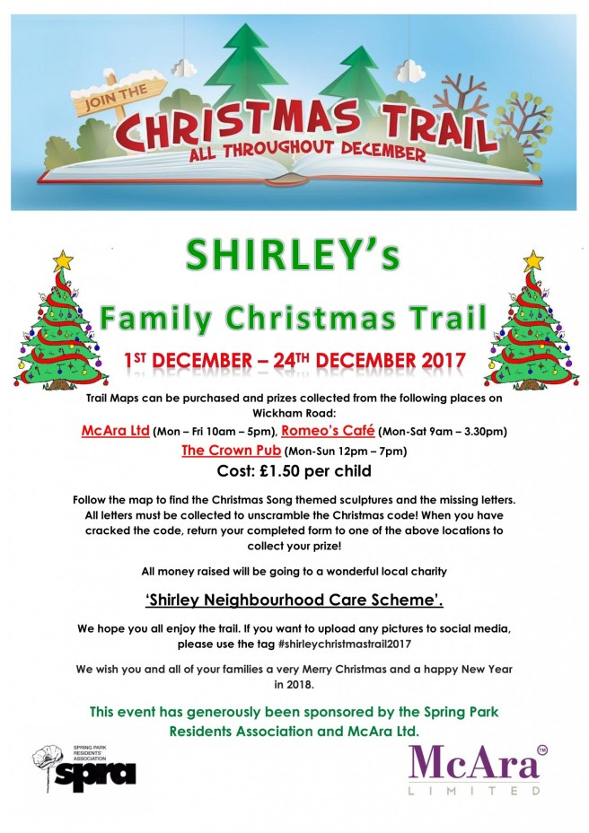 Shirley's Family Christmas Trail 2017