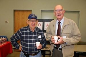 2015 Veterans Day. Ron Pastor & Jim Brady