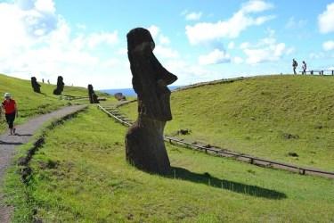 モアイ像で人気のイースター島へのアクセスは?