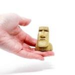 プレミアムモアイ像:手のひらサイズ
