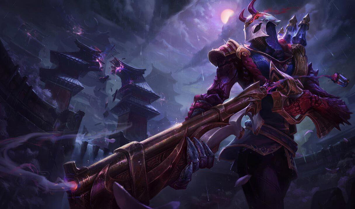 Blood Moon Jhin :: League of Legends (LoL) Champion Skin on MOBAFire