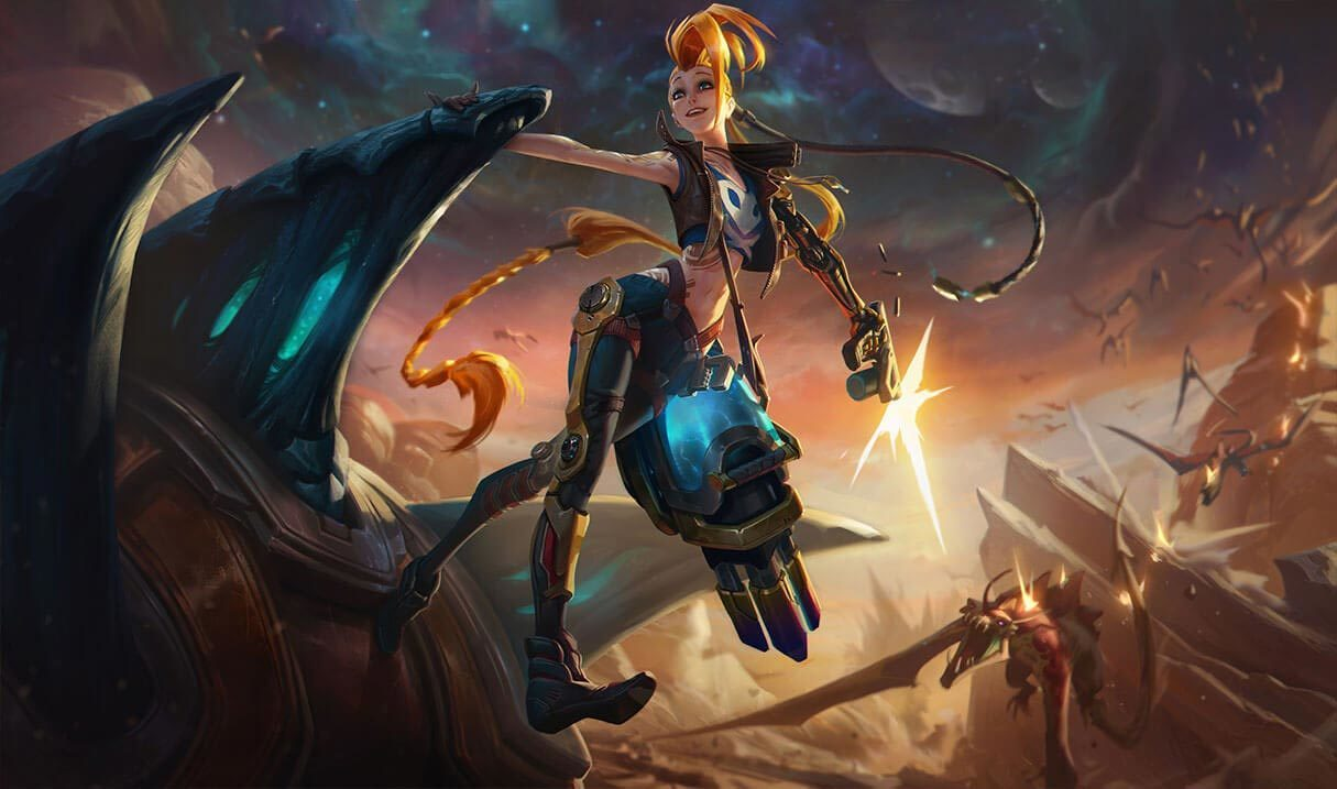 Odyssey Jinx :: League of Legends (LoL) Champion Skin on MOBAFire