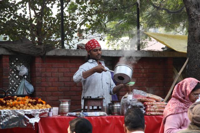 Penjual Teh di India