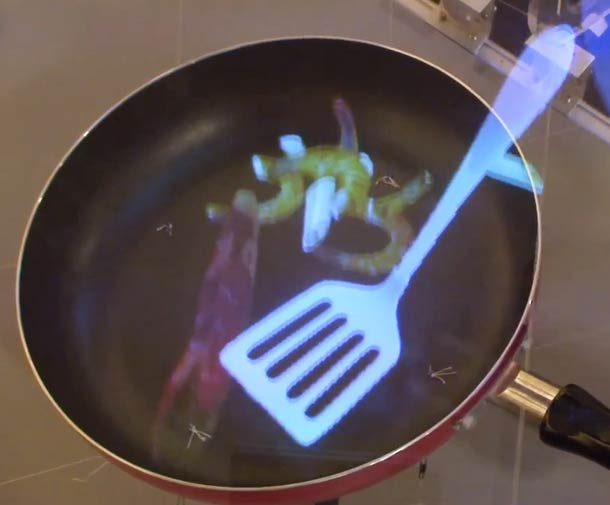 augmented reality cooking simulator