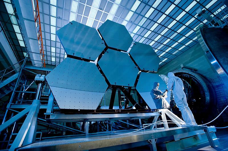 Komponen Cermin Teleskop James Webb
