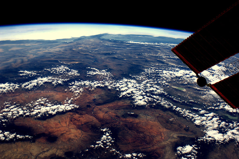 Lake Powell, Monument Valley, Las Vegas and the Canyons from Space