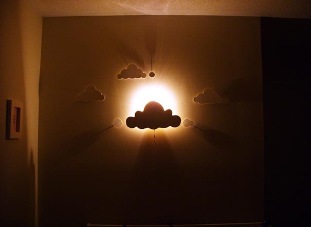 diy lampu dengan kertas 3