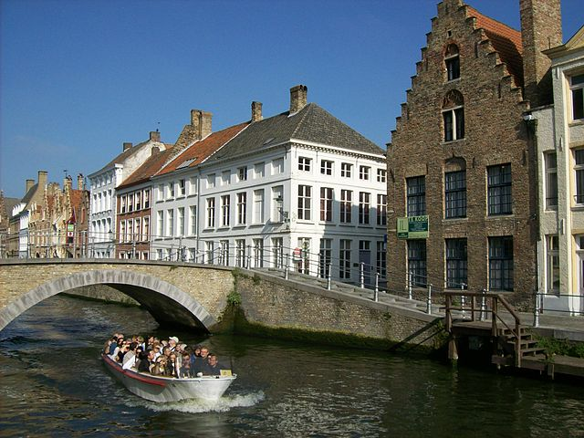 kanal bruges belgia