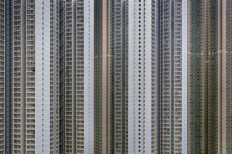 hong kong architecture of density 3