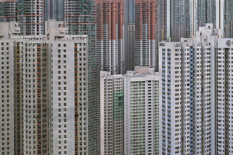 hong kong architecture of density 5