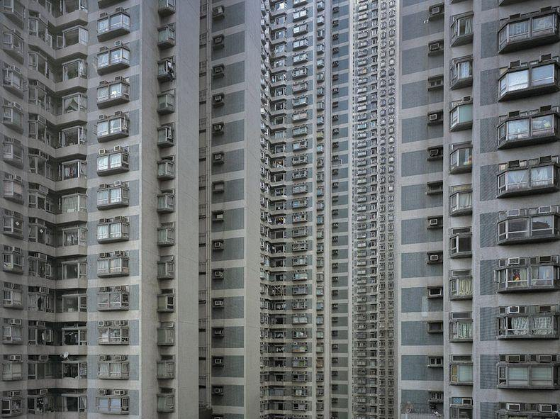hong kong architecture of density 7