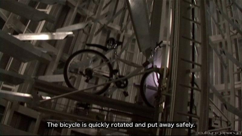 parkir sepeda bawah tanah jepang 11