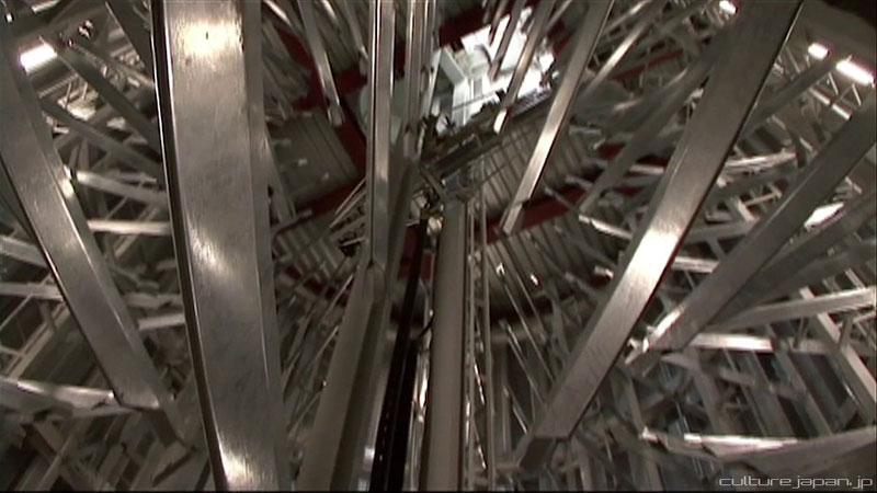 parkir sepeda bawah tanah jepang 12