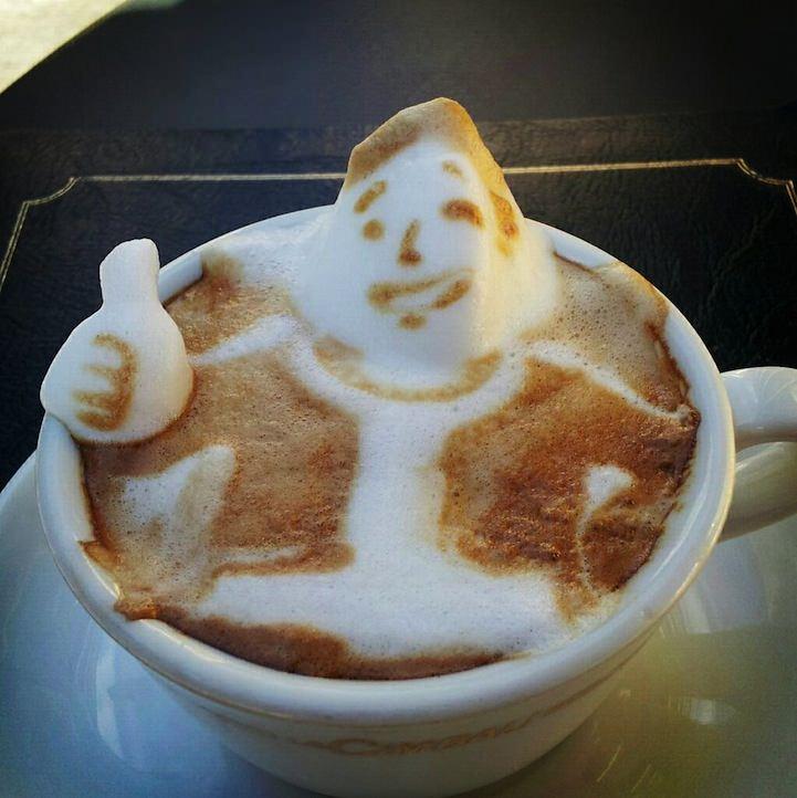 3d coffe latte art 5