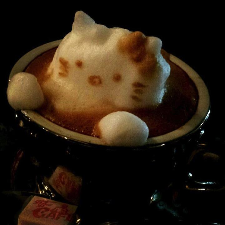 3d coffe latte art 7