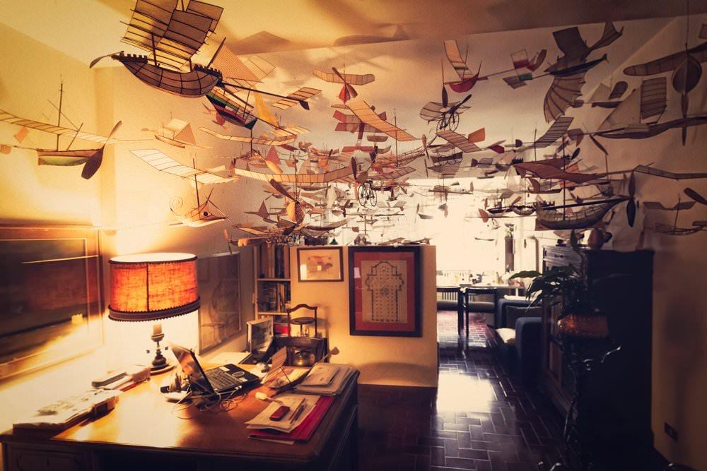 model kapal terbang luigi prina 1