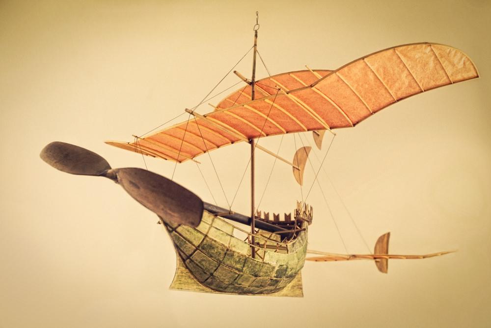 model kapal terbang luigi prina 4