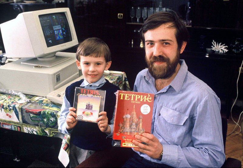 Alexey Pajitnov penemu tetris