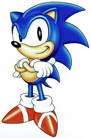 Sonic (the hedgehog). Faster, and slightly more enjoyable.